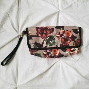 Lesportsac Vintage Floral Clutch